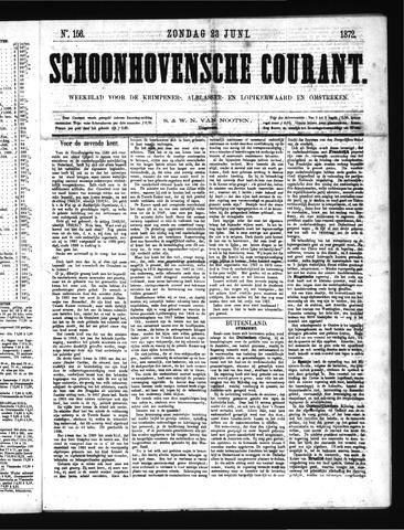 Schoonhovensche Courant 1872-06-23