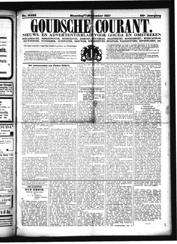 Goudsche Courant 1927-11-07