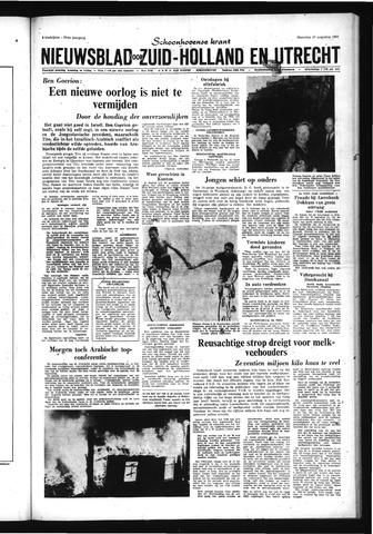 Schoonhovensche Courant 1967-08-28
