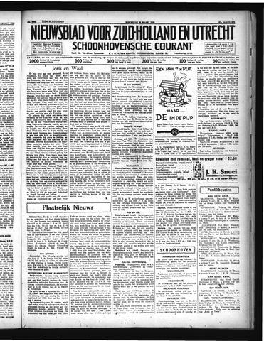 Schoonhovensche Courant 1935-03-20