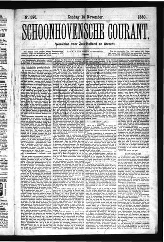 Schoonhovensche Courant 1880-11-14
