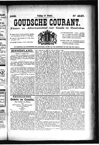 Goudsche Courant 1889-10-18