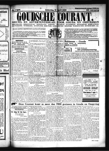 Goudsche Courant 1930-04-19