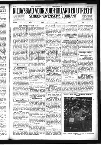 Schoonhovensche Courant 1934-06-13
