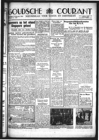 Goudsche Courant 1942-02-09