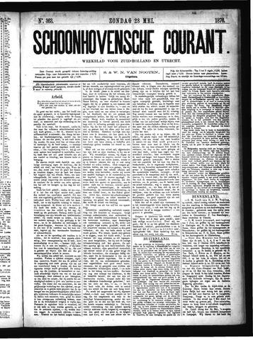 Schoonhovensche Courant 1876-05-28