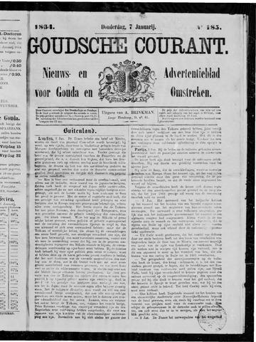 Goudsche Courant 1864-01-07