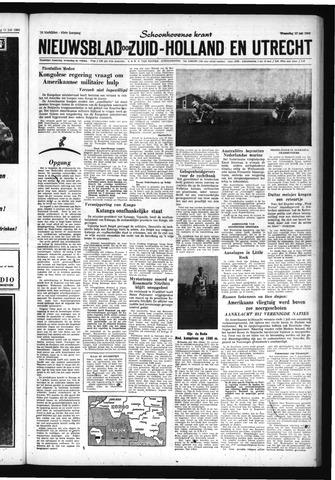 Schoonhovensche Courant 1960-07-13