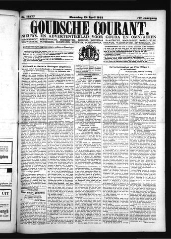 Goudsche Courant 1933-04-24