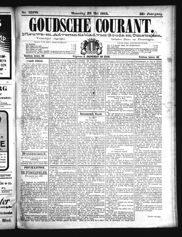 Goudsche Courant 1913-05-26