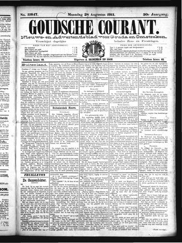 Goudsche Courant 1911-08-28