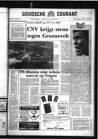 Goudsche Courant 1975-04-05