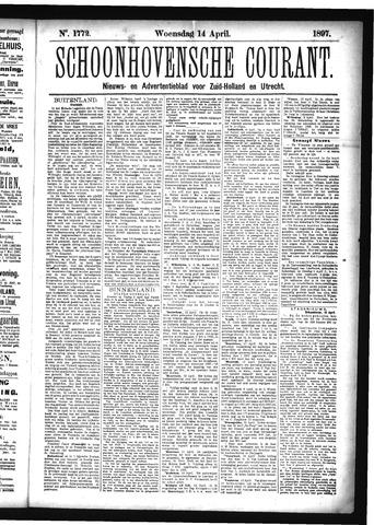 Schoonhovensche Courant 1897-04-14
