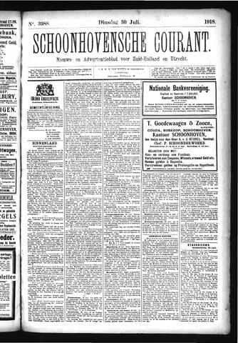 Schoonhovensche Courant 1918-07-30