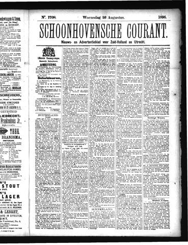 Schoonhovensche Courant 1896-08-26