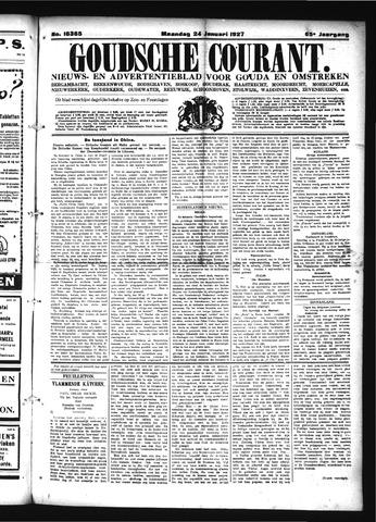 Goudsche Courant 1927-01-24