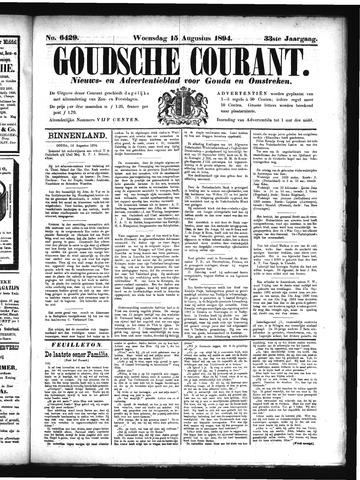 Goudsche Courant 1894-08-15