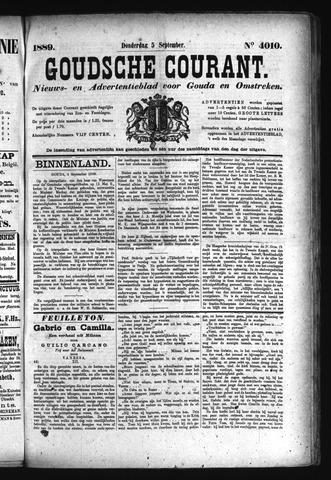Goudsche Courant 1889-09-05