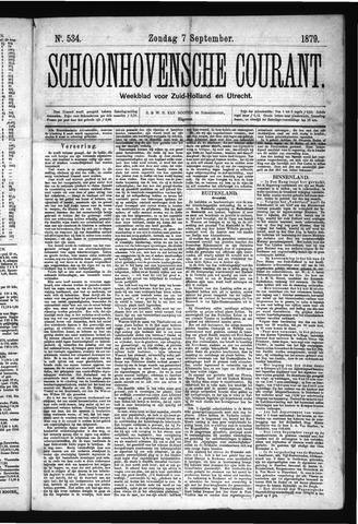 Schoonhovensche Courant 1879-09-07