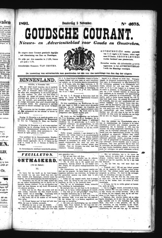 Goudsche Courant 1891-11-05