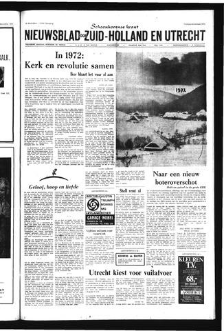 Schoonhovensche Courant 1971-12-31