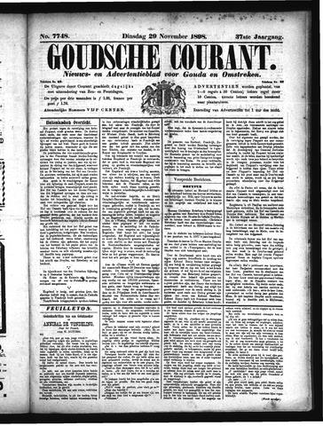 Goudsche Courant 1898-11-29