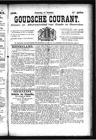 Goudsche Courant 1889-11-14