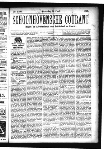 Schoonhovensche Courant 1897-06-19