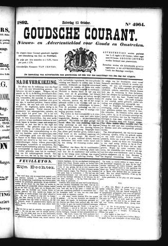 Goudsche Courant 1892-10-15
