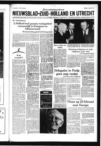 Schoonhovensche Courant 1969-02-07