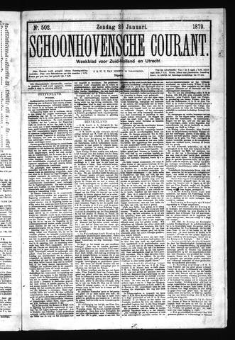 Schoonhovensche Courant 1879-01-26
