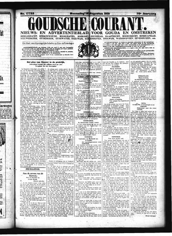 Goudsche Courant 1931-08-12