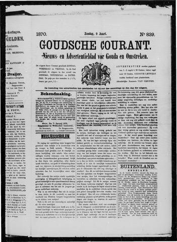 Goudsche Courant 1870-01-09