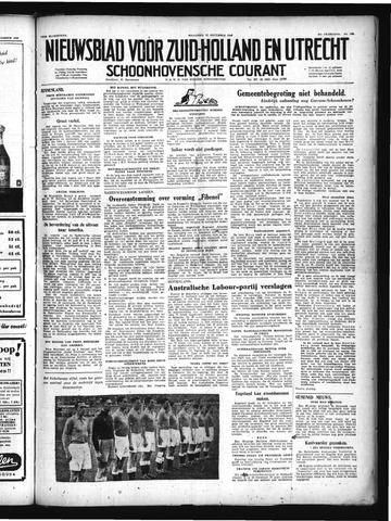 Schoonhovensche Courant 1949-12-12