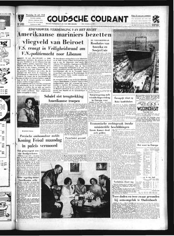 Goudsche Courant 1958-07-16