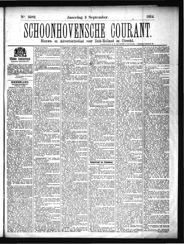 Schoonhovensche Courant 1914-09-05