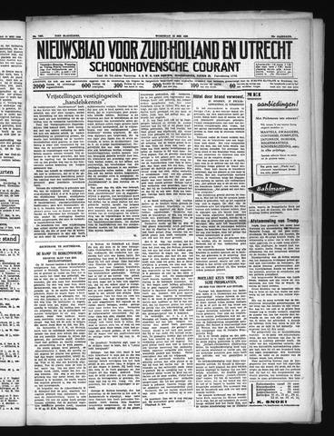 Schoonhovensche Courant 1938-05-18
