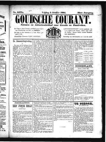 Goudsche Courant 1894-10-05