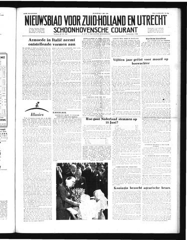 Schoonhovensche Courant 1952-05-07