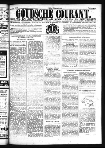 Goudsche Courant 1939-01-27