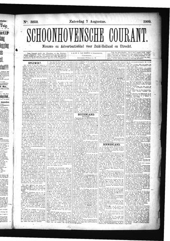 Schoonhovensche Courant 1909-08-07
