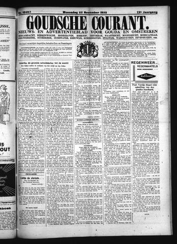 Goudsche Courant 1933-11-22