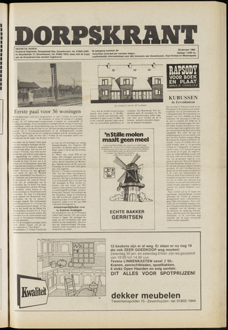 Dorpskrant 1982-01-29