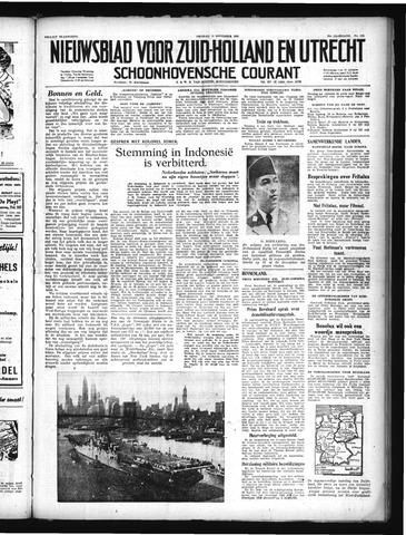 Schoonhovensche Courant 1949-11-11