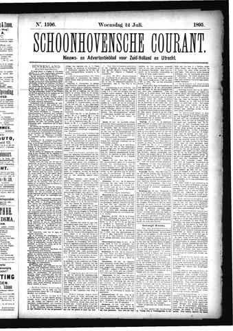 Schoonhovensche Courant 1895-07-24