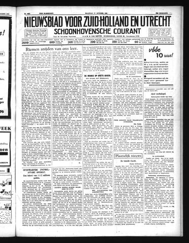 Schoonhovensche Courant 1938-10-17