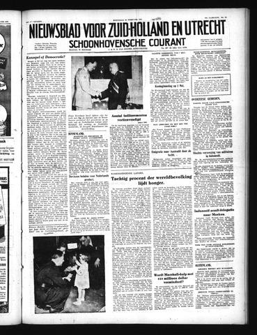 Schoonhovensche Courant 1950-02-22