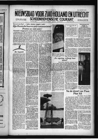 Schoonhovensche Courant 1958-10-10