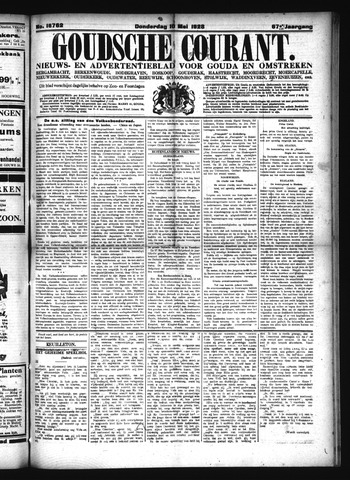 Goudsche Courant 1928-05-10