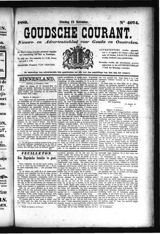 Goudsche Courant 1889-11-19